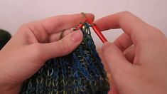 Knitting Brioche: English vs Continental (video)
