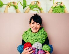 Veja como tricotar com as mãos cachecol feitos de lã largas, ideais para combater o inverno com muito estilo. - Veja mais em: http://www.vilamulher.com.br/artesanato/passo-a-passo/aprenda-a-tricotar-cachecol-com-os-bracos-17-1-7886495-422.html?pinterest-destaque