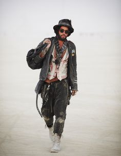 Why don't people dress like it was burning man all the time?! The world would be a much cooler place.
