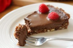 Double Chocolate Torte - The perfect Valentines Day treat! Its so incredibly delicious and best of all its Gluten Free, Dairy Free, Vegan & Paleo! http://thewonkyspatula.com/2016/02/12/double-chocolate-torte/