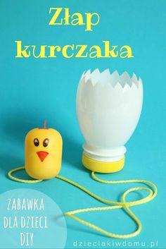 Egg and chicken craft game for kids / zabawka zręcznościowa dla dzieci DIY Animal Crafts For Kids, Fun Crafts For Kids, Craft Activities For Kids, Summer Crafts, Creative Crafts, Toddler Activities, Games For Kids, Diy For Kids, Craft Ideas