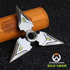 Overwatch Genji Spinnable Shurikens (1 Piece)