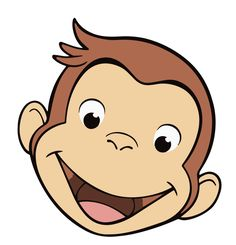 Curious George print out for center pieces and banner