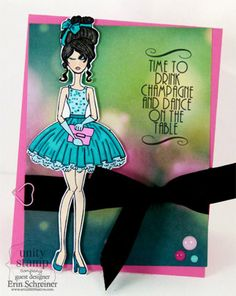 Claire-Fashionista and Sassy Pants sentiments - Unity Stamp Co