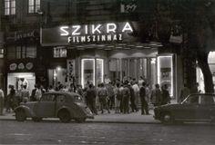 Szikra Mozi a Lenin körúton Old Pictures, Old Photos, History Photos, Budapest Hungary, Historical Photos, Cinema, Landscape, Country, City