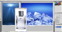 Print screen das imagens utilizadas para compor o anúncio da Lacoste.