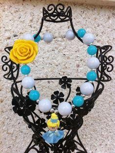 Cinderella kids chunky necklace by Chunkymonkeynecklace on Etsy, $18.00