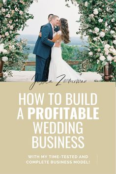 Are you looking to start a business in the wedding industry but unsure about the first step? Do you have a wedding planning business, but struggle with business systems and business growth? The Business Behind the Blooms online course from Jessica Zimmerman will show you the step by step process to starting your wedding business, how to find clients, how to price your services, social media, proposal templates, contract templates, budgeting, business finances and more. Proposal Templates, Zimmerman, Industrial Wedding, Starting A Business, Business Tips, Floral Wedding, Floral Arrangements, Budgeting, Wedding Planning