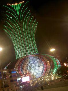 The Grand Lisboa in Macau