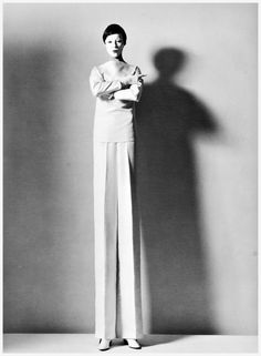 Horst P. Horst    Tall fashion, 1963