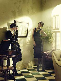 alexilubomirski1 Vogue Germany | Luca Gadjus & Karolin Wolter by Alexi Lubomirski