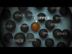 Ore to More. This video shows the entire process of mining copper ore copper purification by electrolysis. Teaching Science, Science For Kids, Science And Nature, Teaching Kids, Aqa Chemistry, Paddle To The Sea, Science Videos, Earth From Space, Old Love