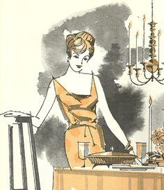 Vintage Recipes: 1960s Elegant Sit-Down Meals