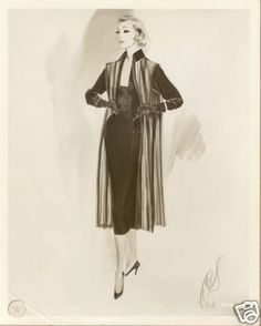 LAUREN BACALL Costume Sketch Photo HELEN ROSE | #43164997 Hollywood Costume, Hollywood Fashion, Old Hollywood, Helen Rose, Lauren Bacall, Costume Design, Costumes, Fashion Illustrations, Movies