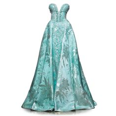 satinee.polyvore.com - Saiid Kobeisy 2015 ❤ liked on Polyvore featuring dresses, gowns, satinee, long dress, doll clothes, blue ball gown, long-sleeve babydoll dresses, long dresses, long blue evening dress and blue evening gown