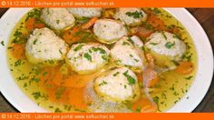 Zlatá slepačia polievka - Goldene joich - židovský penicilín Czech Recipes, Ethnic Recipes, Thai Red Curry, Potato Salad, Food And Drink, Ale, Treats, Snacks, Chicken