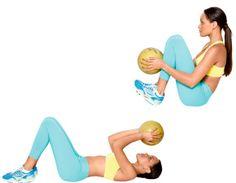 Exercícios para diminuir o estômago alto Treino localizado