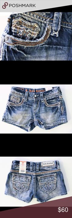 BRAND NEW ROCK REVIVAL SHORTS! 💕 Originally $118! Brand new denim shorts with tags! Rock Revival Jeans