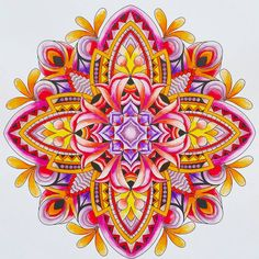 ColorIt Mandalas to Color Volume 1 Colorist: Marla Theodoro #adultcoloring #coloringforadults #mandalas #mandala #coloringpages