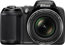 Just added to Digital Cameras on Best Buy : Nikon - Coolpix L340 20.2-Megapixel Digital Camera - Black