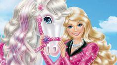 Aprender a andar de cavalo.