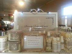 Handmade bath products from Serenity Soaps and more.  Online at serenitysoapsnmore.com