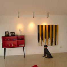 Arte y espacio es el diseño principal del apartamento Moncada-Barros