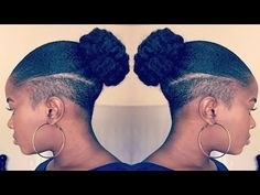 Back to my Shaved Sides? All my haircut videos. I got a Tapered/Frohawk Haircut(Shaved sides haircut): My Undercut Natural Hair, Natural Hair Haircuts, Undercut Hairstyles Women, Undercut Styles, Shaved Side Hairstyles, Tapered Natural Hair, Natural Hair Styles, Short Hair Styles, Locs Styles