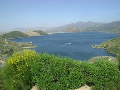 Lake Silverwood, San Bernardino National Forest, CA gonna go camping here this summer with the fam.
