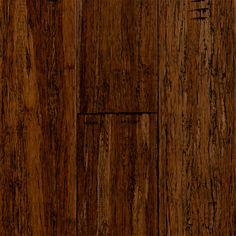Our flooring - Major Brand - 3/8 x 3-3/4 Jinhua Click Strand Bamboo
