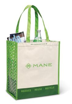 This fashionable tote is laminated to provide maximum durability  Reusable shopping bag is perfect for all your grocery essentials. Available in an array of colors!