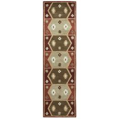 Rizzy Home Hand-tufted Southwest Southwest/ Tribal Runner Area Rug