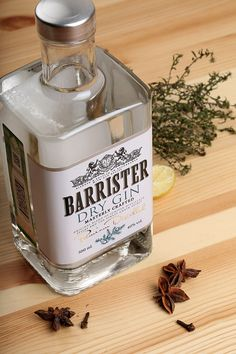 Barrister Gin on Packaging of the World - Creative Package Design Gallery
