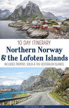 10 Day Lofoten Islands and northern Norway itinerary. Visit Tromso Sommaroy Senja Vesteralen Islands Reine and go hiking on some amazing trails. Travel Travel Travel Trip Travel T Backpacking Europe, Europe Travel Guide, Travel Guides, Travel Tips, Tromso, European Destination, European Travel, Jotunheimen National Park, Places To Travel