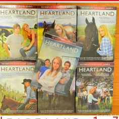 All heartlands 1-7 sorry i didnt put season 9 not enough room