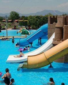 Pasa un #FinDeAño diferente, #ParqueAcuático #PuebloNuevo #Ixmiquilpan #AguasTermales #Tirolesa #Cabañas #Toboganes