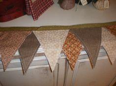 primitive rag garland by simplyapplesnspice