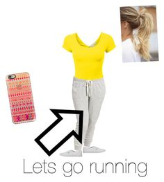 """""""I'm really bored so i just thought of running ? """" by ruhamarahman ❤ liked on Polyvore featuring Casetify, Old Navy, Vans, women's clothing, women, female, woman, misses, juniors and plus size clothing"""