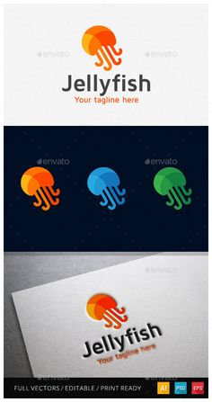 Jellyfish Media Logo Template