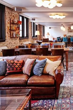 Gorgeous canal views. A posh address in 'Dam's coolest 'hood. Instagram-ready interiors that blend one-of-a-kind vintage pieces and sleek, masculine décor. It's easy to see why we're crushing on The Hoxton. The Hoxton (Amsterdam, Netherlands) - Jetsetter