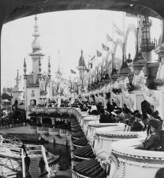 Coney Island /Seating for the Outdoor Circus 1904