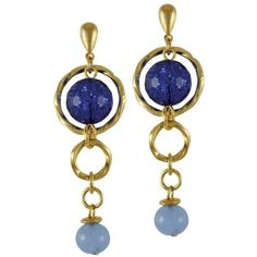 Venetian Murano glass torsade earrings from Eternal Collection ($28) ❤ liked on Polyvore featuring jewelry, earrings, earrings jewellery, murano glass jewelry, earring jewelry and murano glass earrings