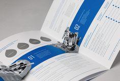 Gazpromneft booklets by QUSQUS , via Behance