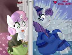 Do you want to build a snowman from disney frozen pony style