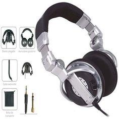 ¡Auriculares Black Label para DJ en masquesonido.com BL-DJ9700 en oferta por 24.20 euros!