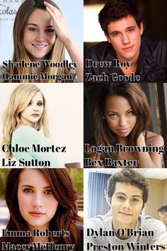 Gallagher Girls dream cast for a movie part one