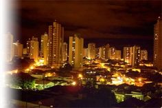 uberlândia a noite.