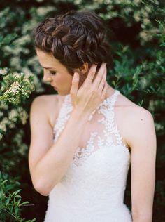 Lilac Bridal Portrait Session