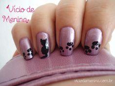 Nail Art Cat