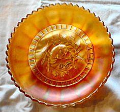 Carnival Marigold Lotus Bowl